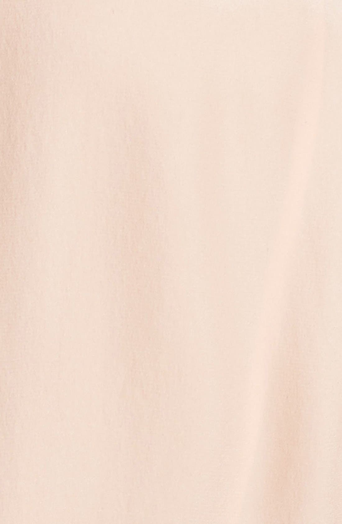 Alternate Image 5  - Rebecca Taylor Chevron Lace Midi Dress