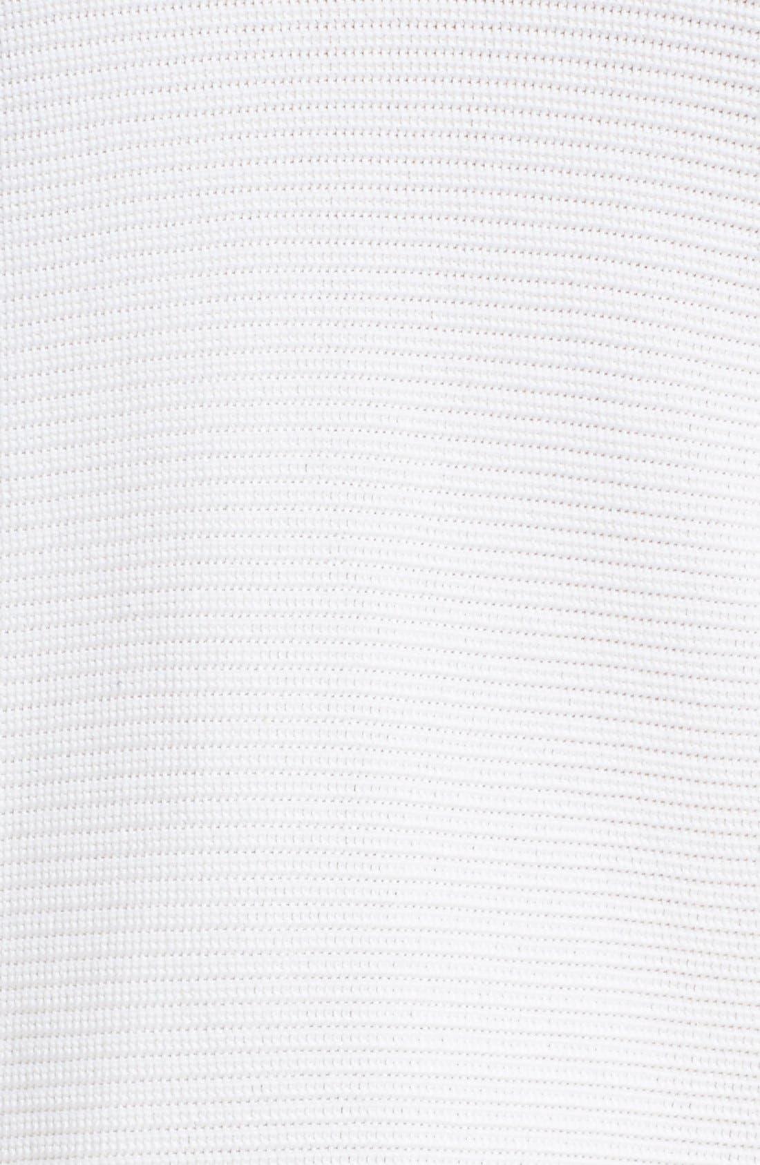 Alternate Image 3  - Lafayette 148 New York Crop Silk & Cotton Kimono Sweater