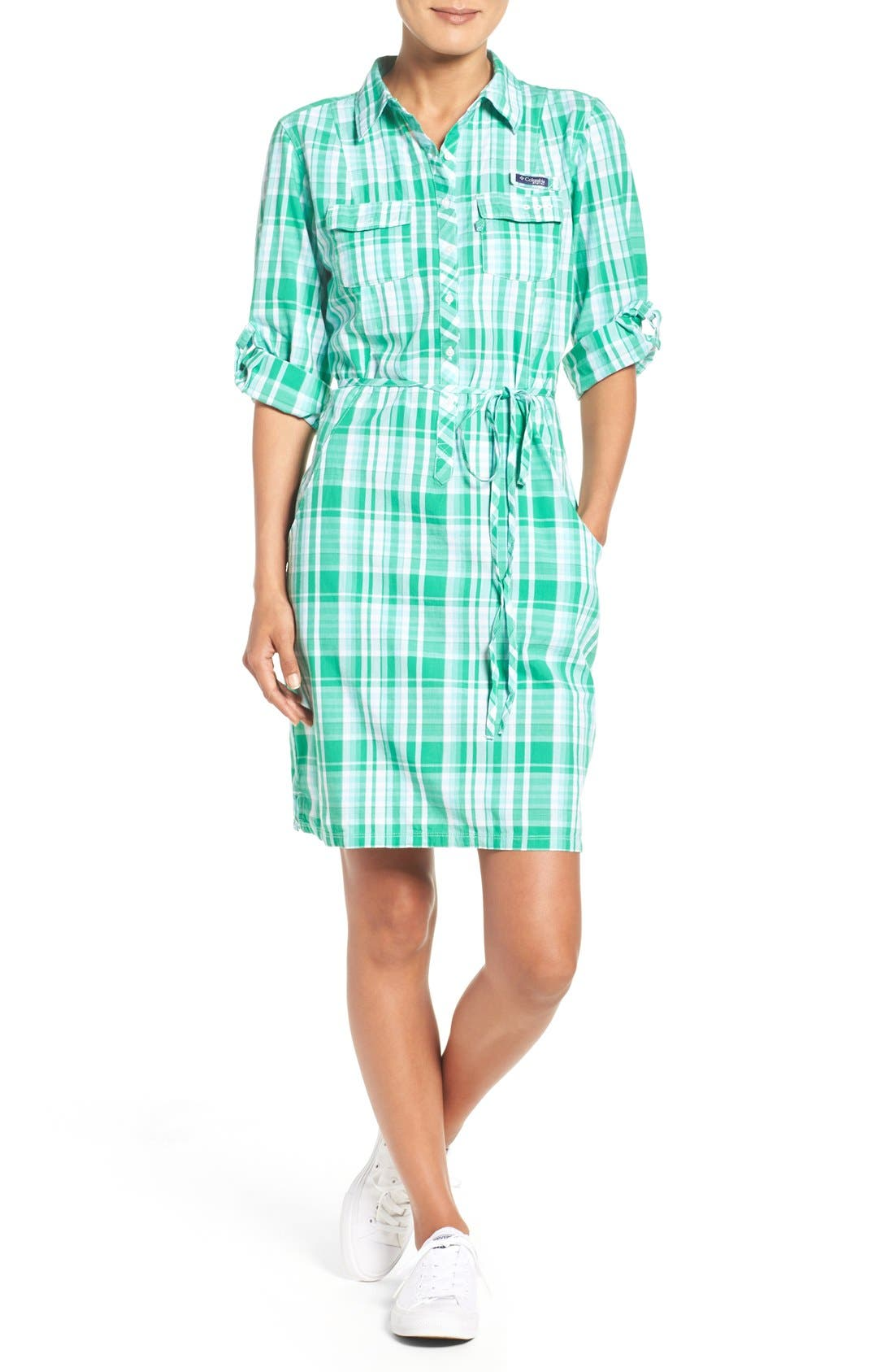 Alternate Image 6  - Columbia 'Super Bonehead' Cotton Shirtdress