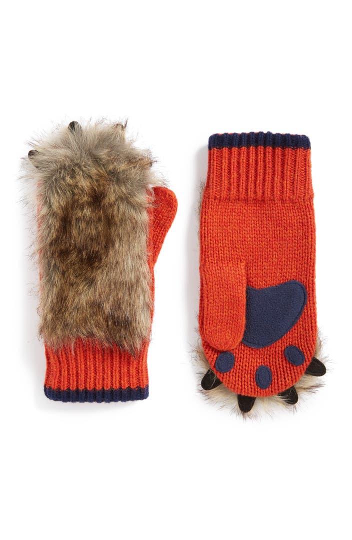 Mini boden mr fox mittens little boys big boys for Shop mini boden