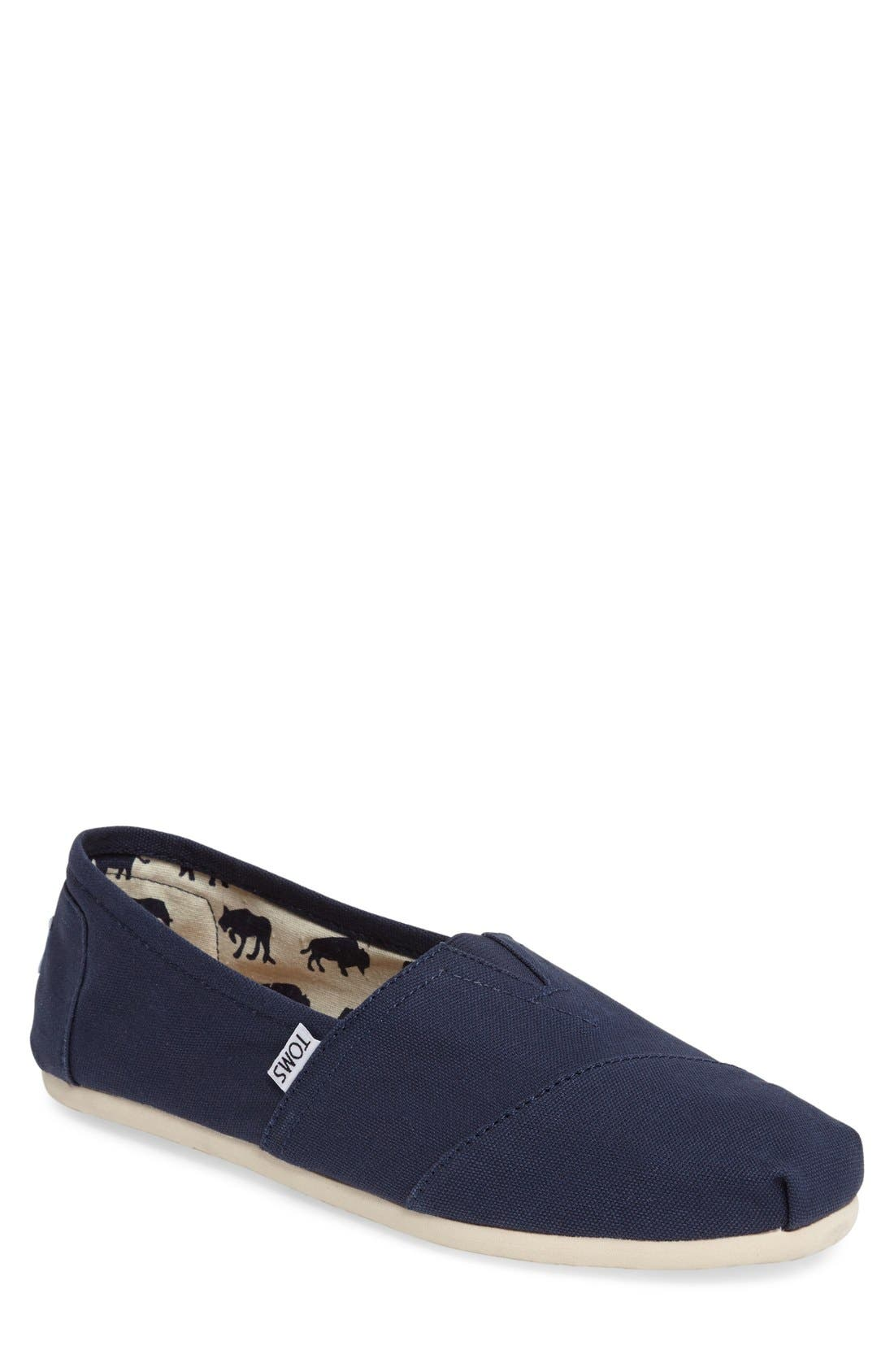 Main Image - TOMS 'Classic' Canvas Slip-On   (Men)