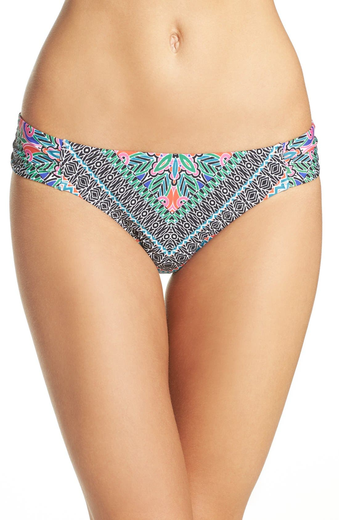 Laundry by Shelli Segal Bohemian Side Tab Hipster Bottoms