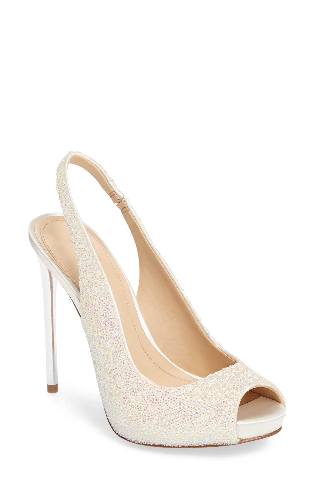Imagine Vince Camuto 'Pavi' Slingback Peep Toe Pump (Women)