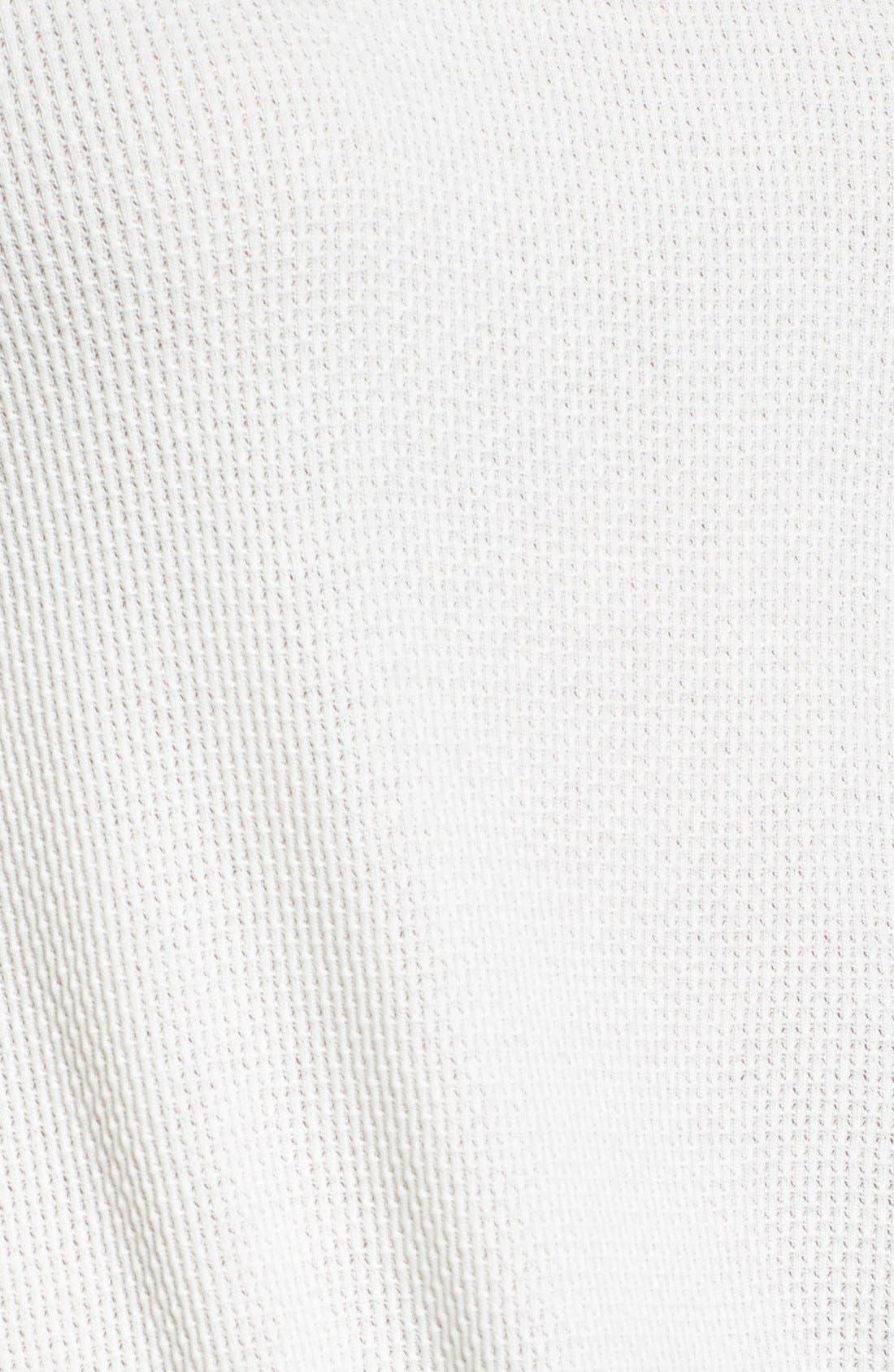 Alternate Image 5  - Hinge Shirred Back Thermal Tee