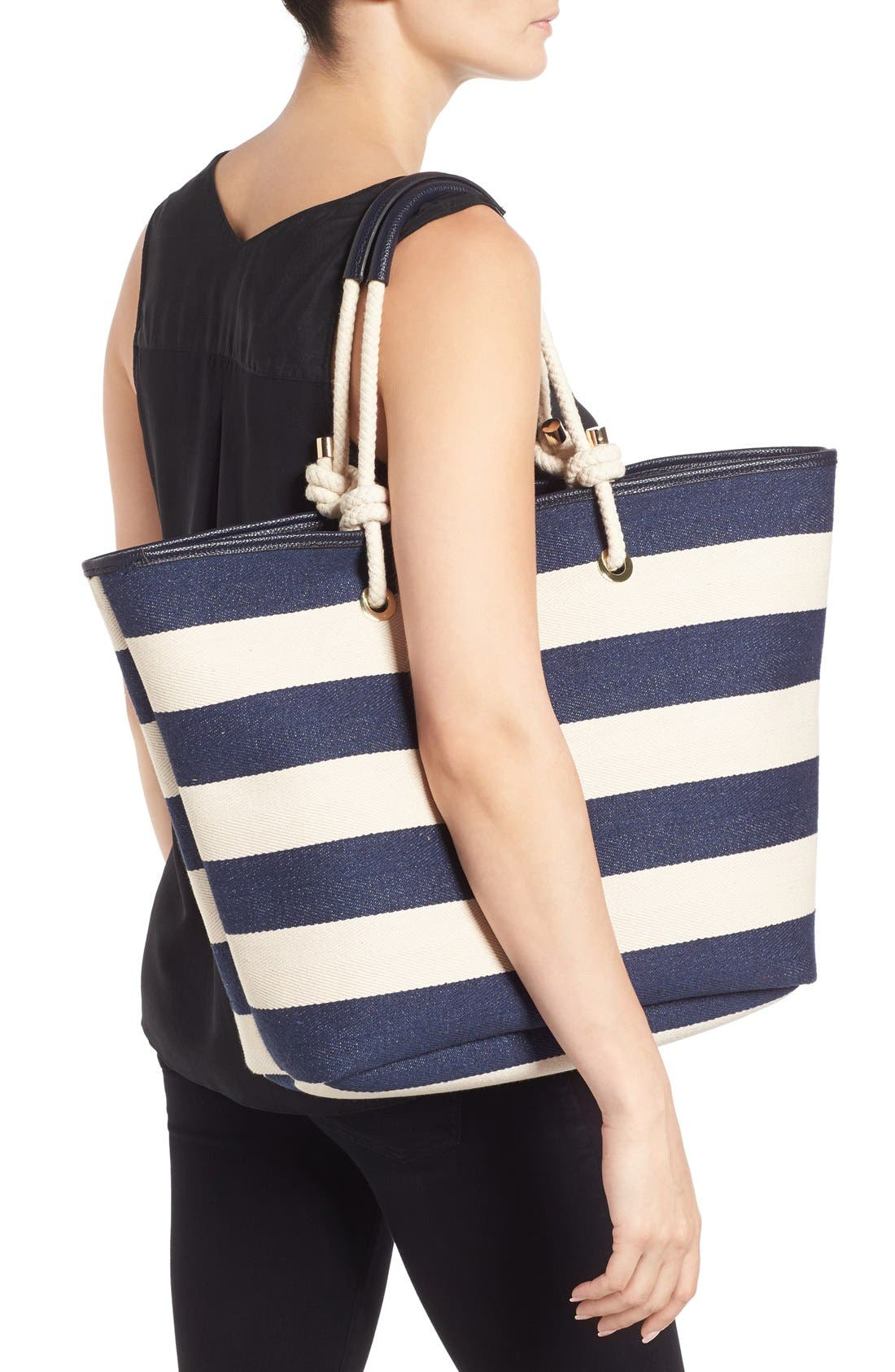 Alternate Image 2  - Phase 3 Rope Handle Canvas Tote