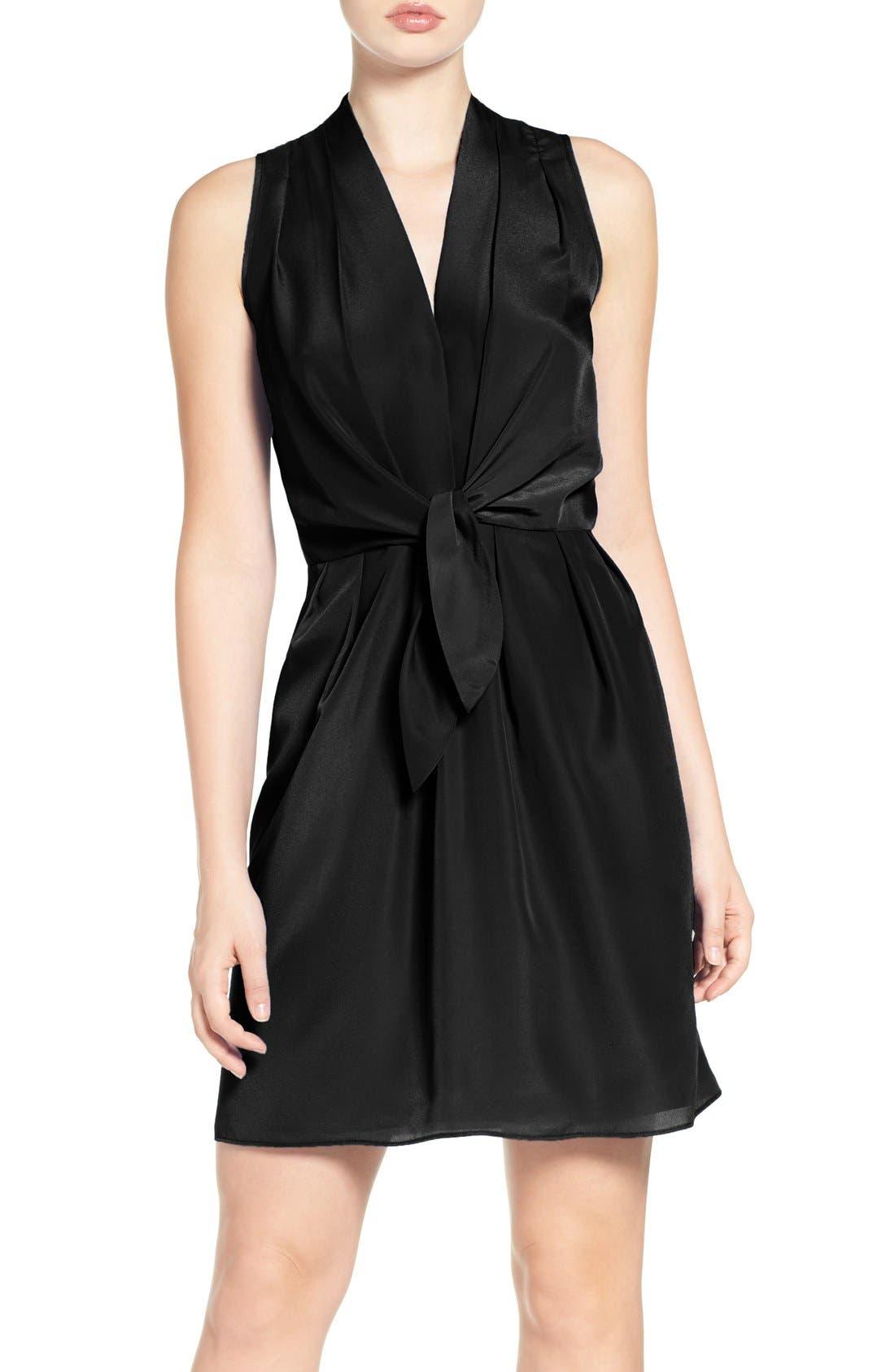 Felicity & Coco Tie Front Dress (Regular & Petite) (Nordstrom Exclusive)