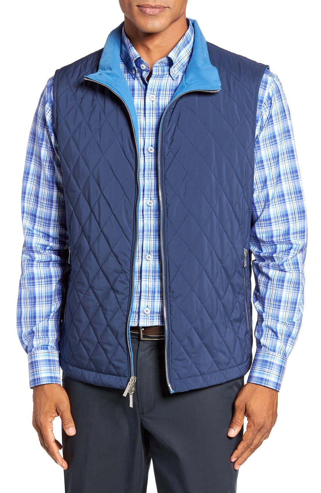 PAUL & SHARK Reversible Quilted Vest