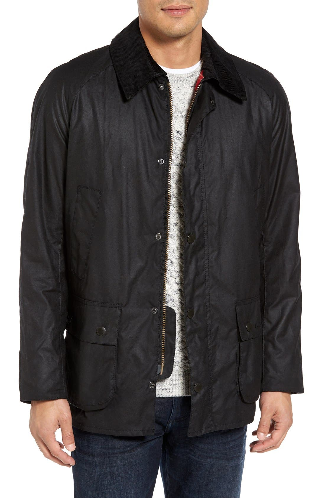 Alternate Image 1 Selected - Barbour Ashby Wax Jacket