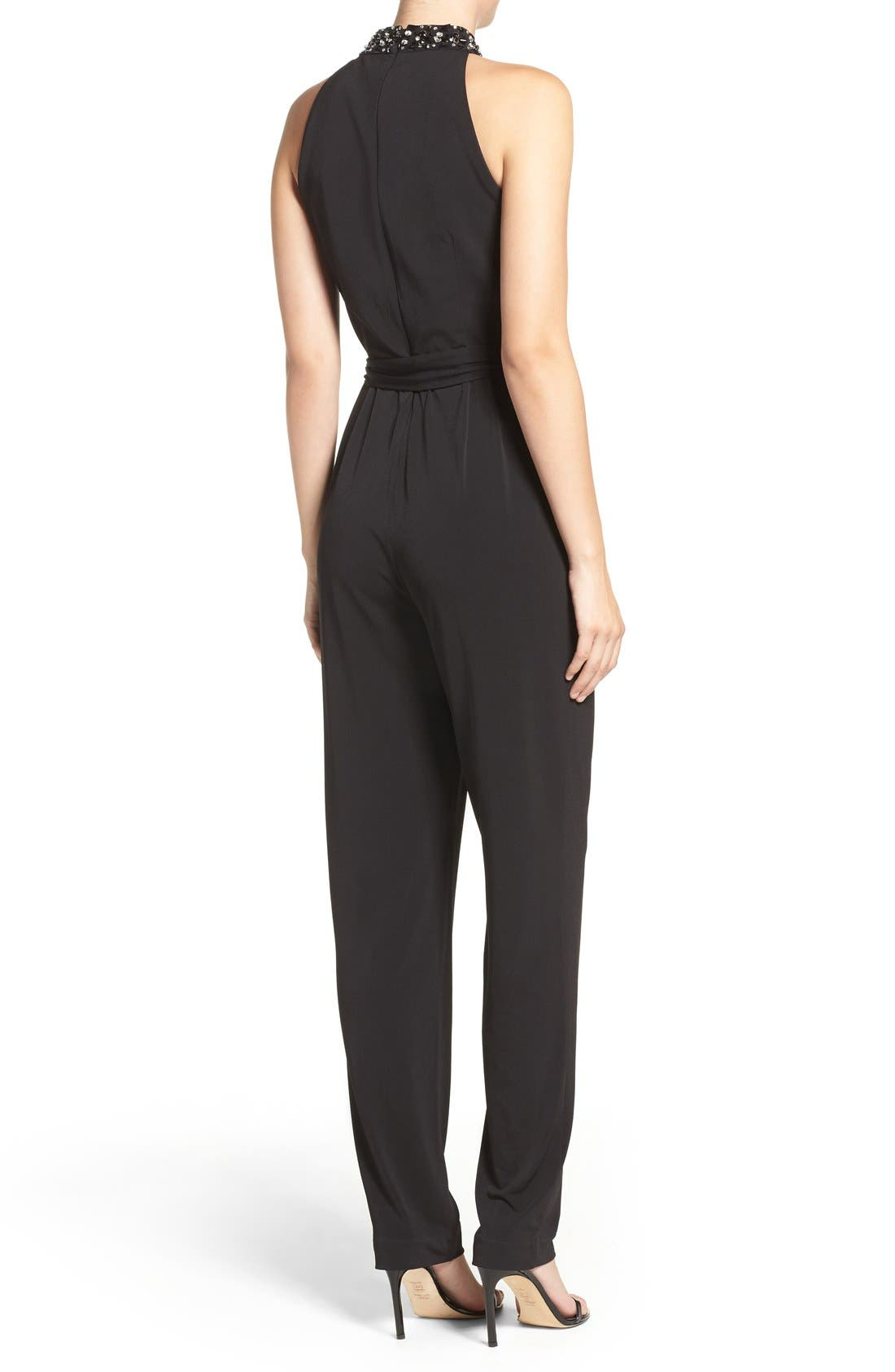 Alternate Image 3  - Vince Camuto Embellished Jumpsuit