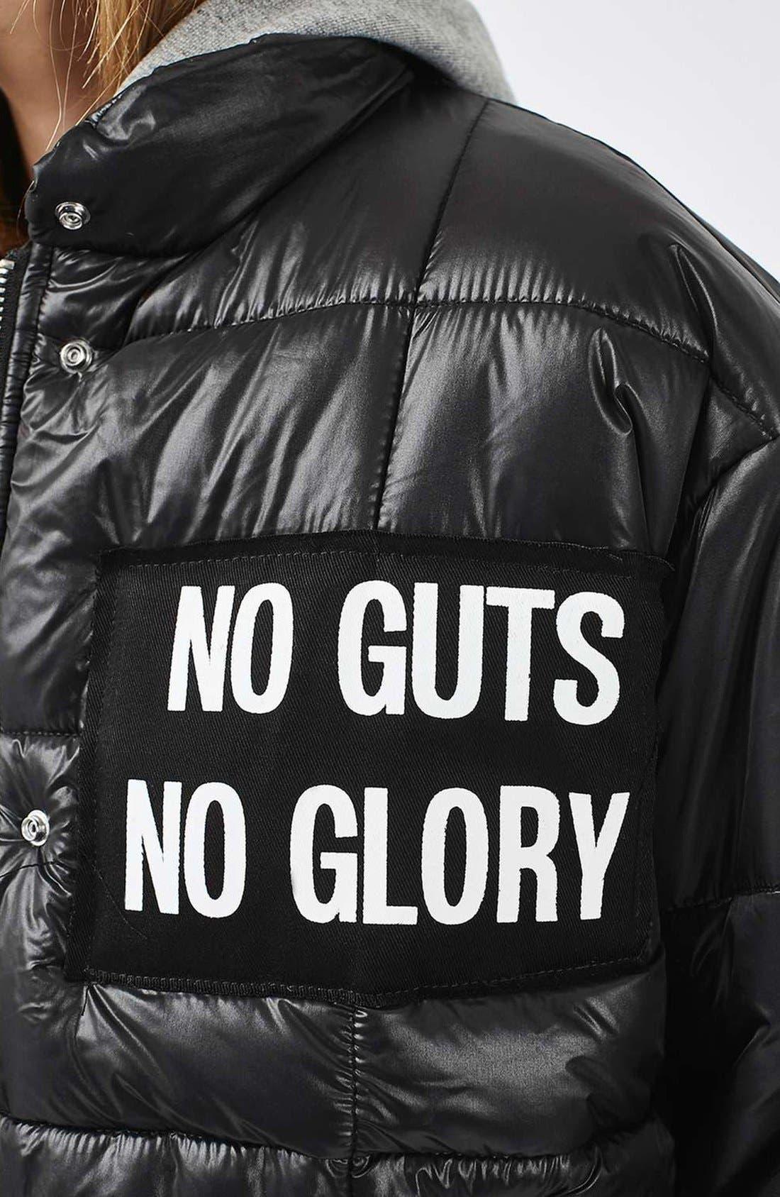 Alternate Image 5  - Topshop Nina Puffer Jacket