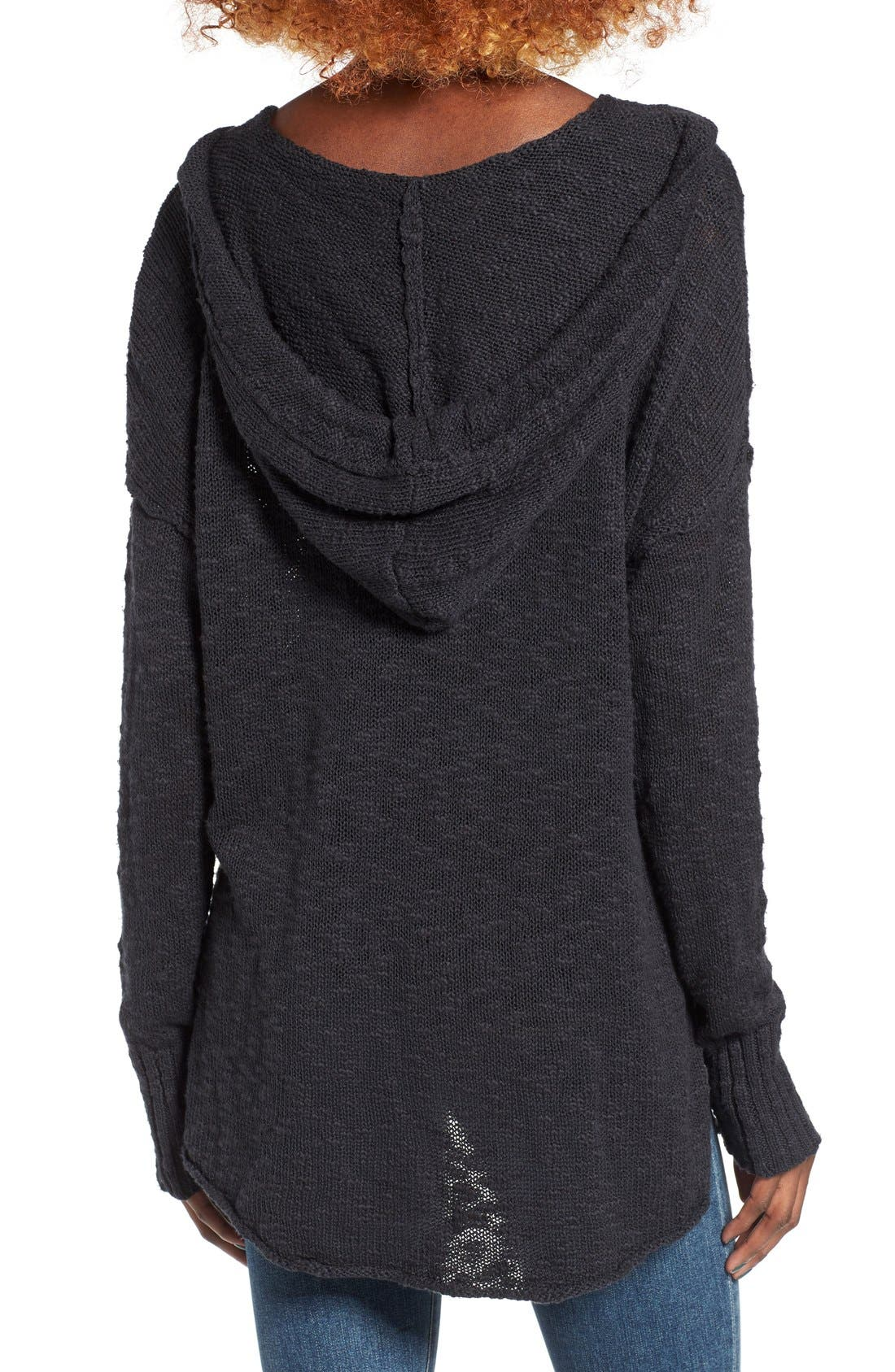 Alternate Image 2  - Roxy Airwaves Hooded Sweater