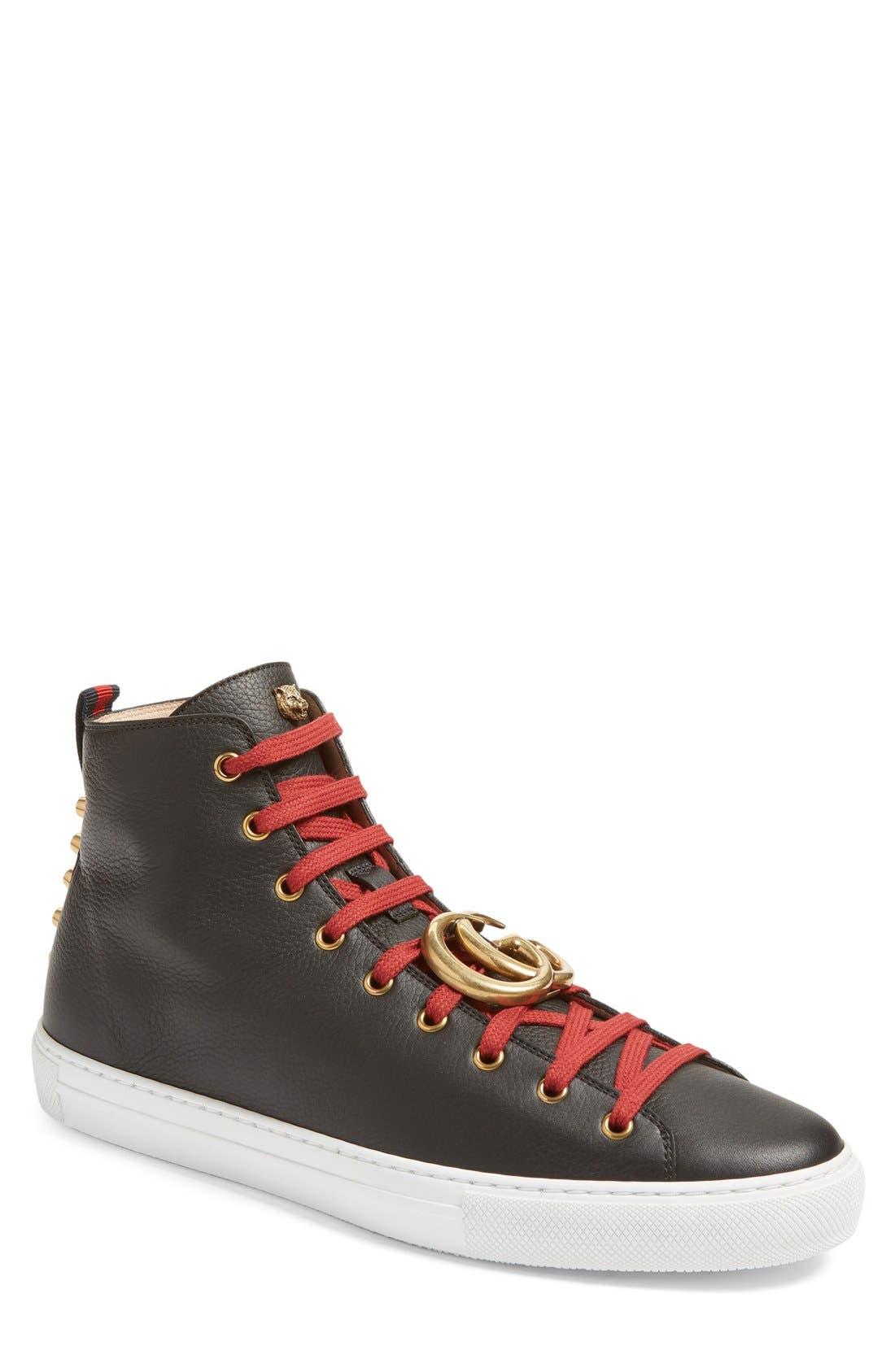 Alternate Image 1 Selected - Gucci Major High Top Sneaker (Men)