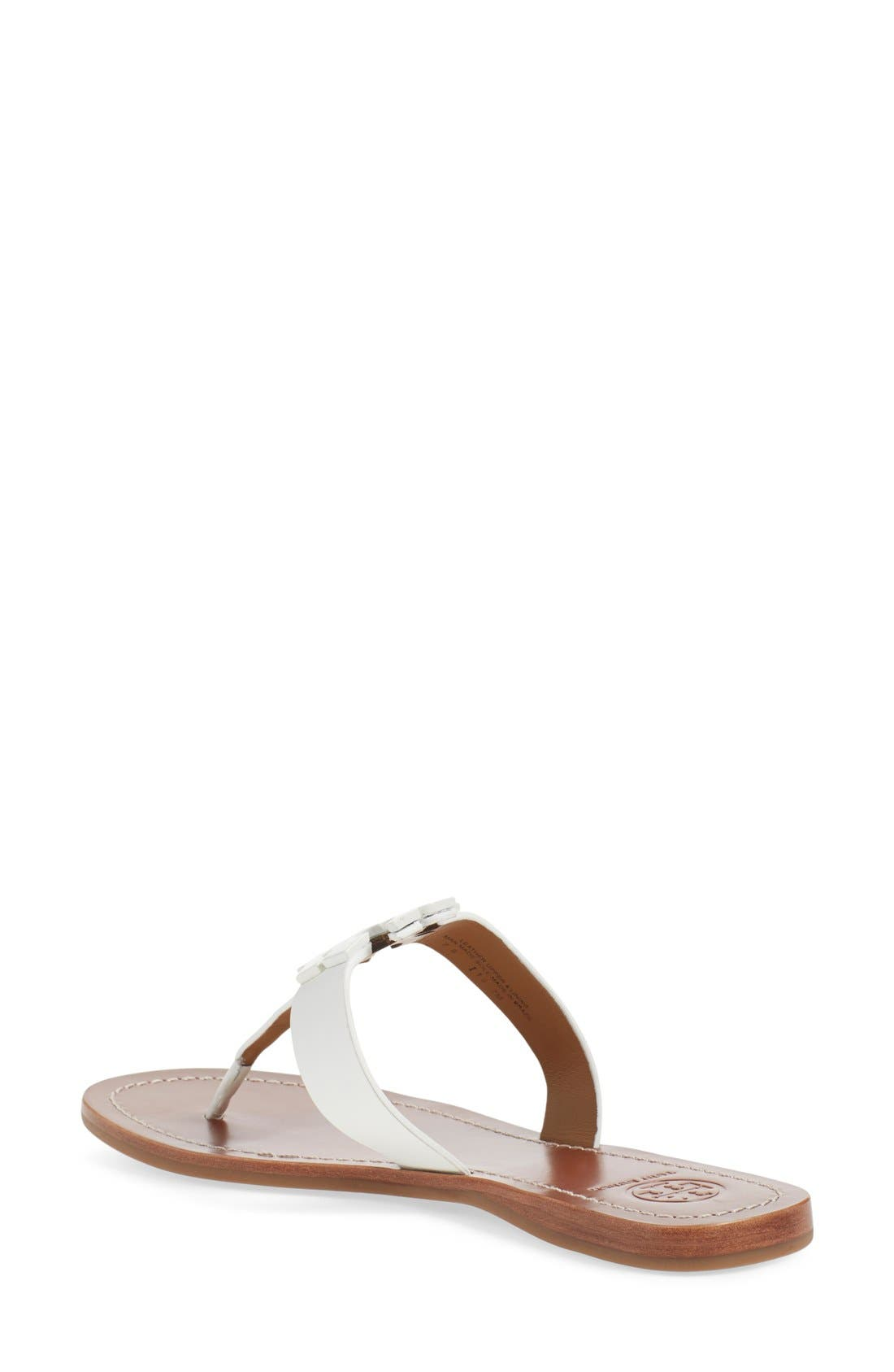 Alternate Image 2  - Tory Burch Moore Logo Sandal (Women)