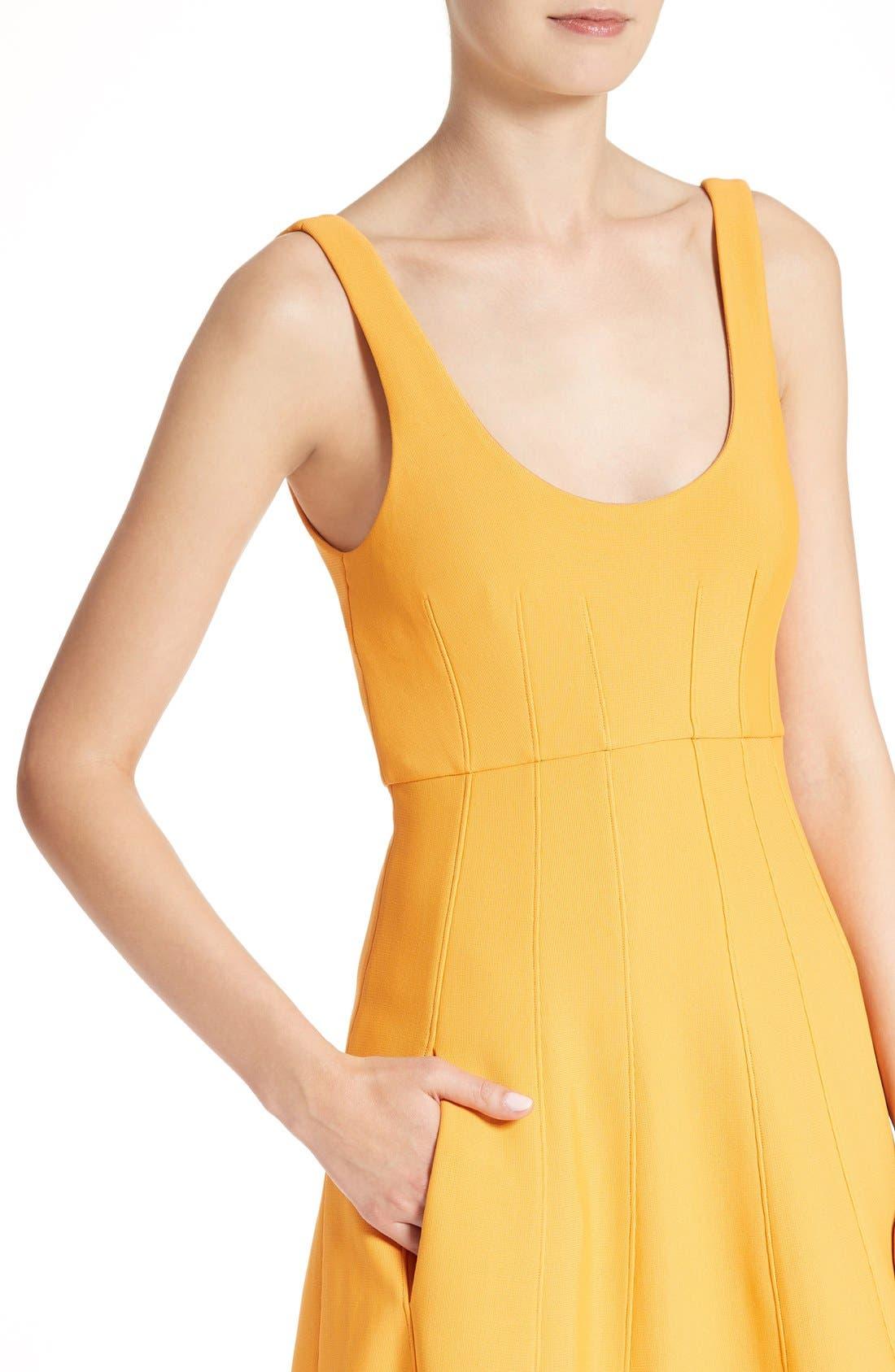 Alternate Image 4  - Tibi Corset Structured Midi Dress