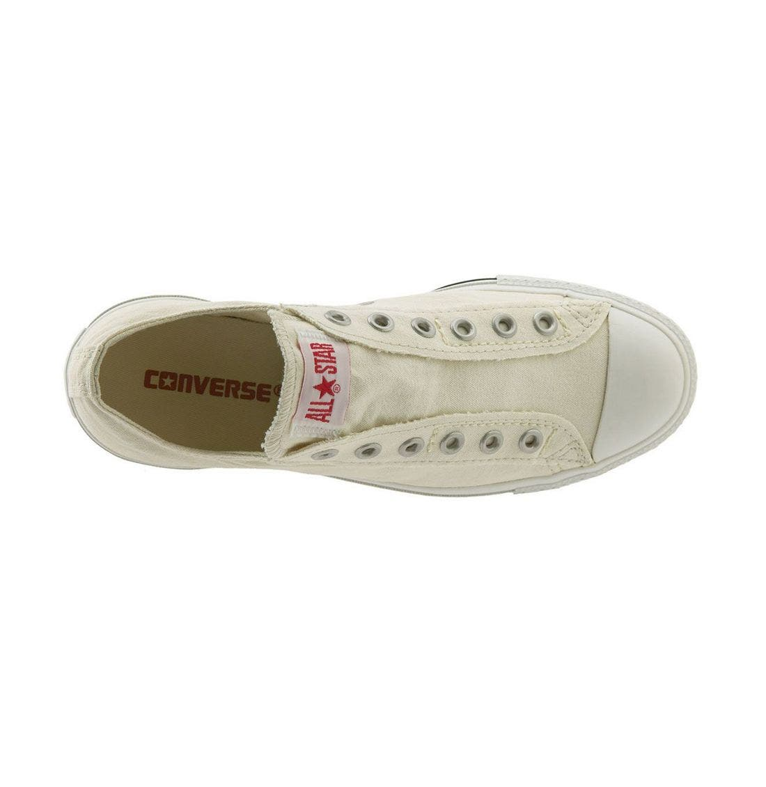 Alternate Image 3  - Converse Chuck Taylor® Low Slip-On Sneaker (Women)