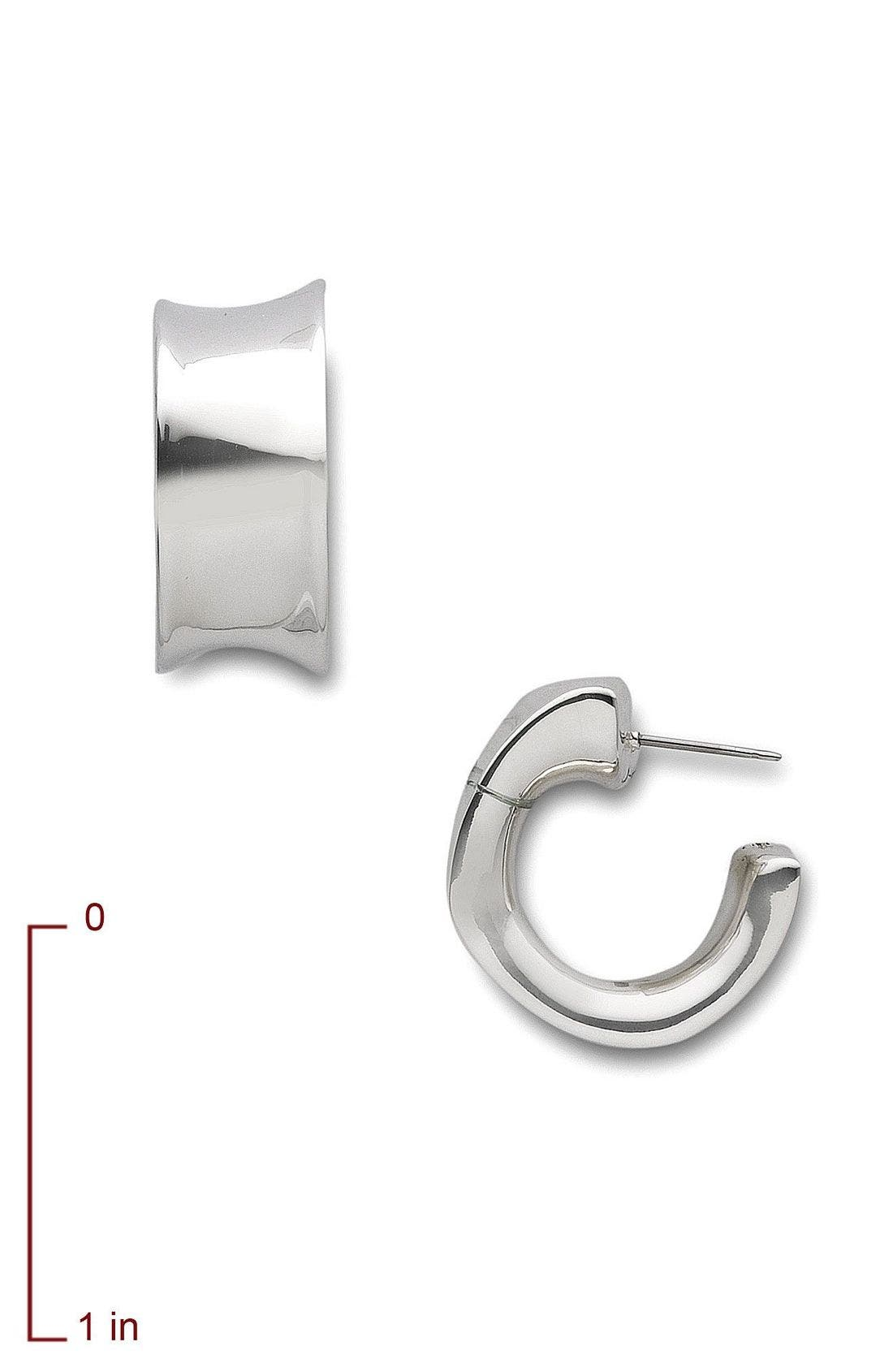 Alternate Image 2  - Simon Sebbag Small Square Hoop Earrings