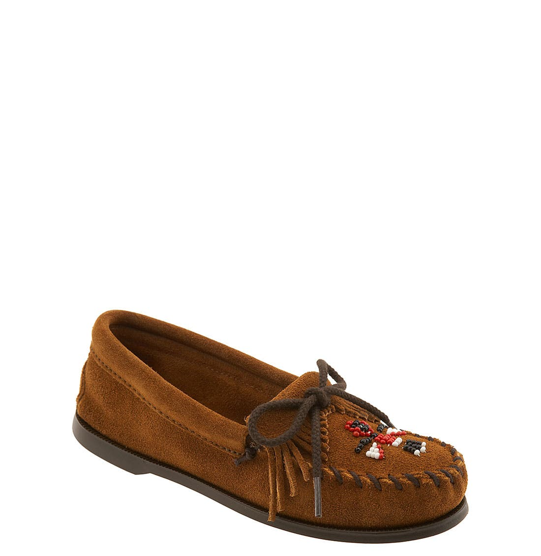 Main Image - Minnetonka 'Thunderbird' Moccasin (Toddler, Little Kid & Big Kid)