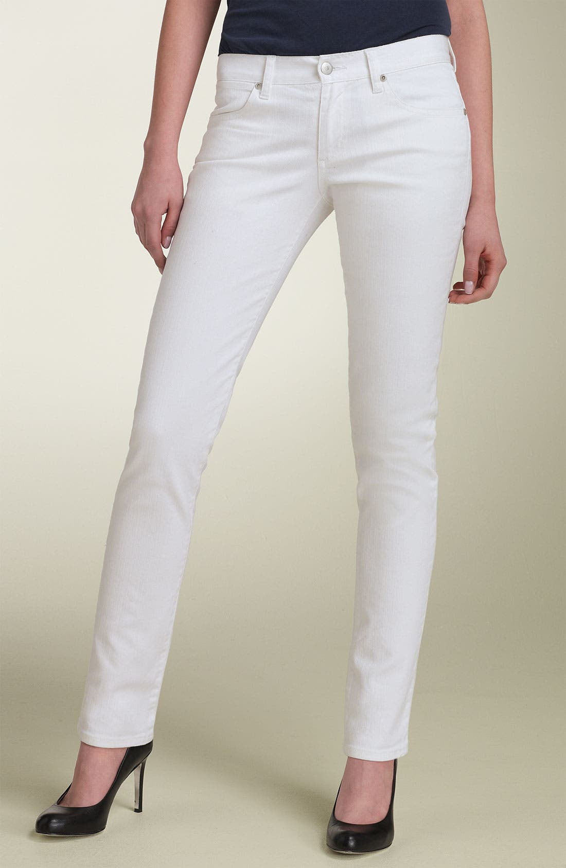 Alternate Image 2  - paperdenim&cloth 'Audrey' Cigarette Leg Stretch Jeans