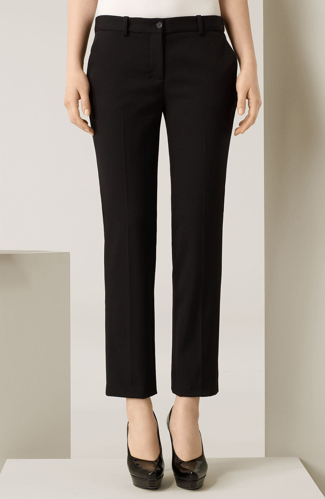 Alternate Image 1 Selected - Michael Kors Cotton Broadcloth Capri Pants