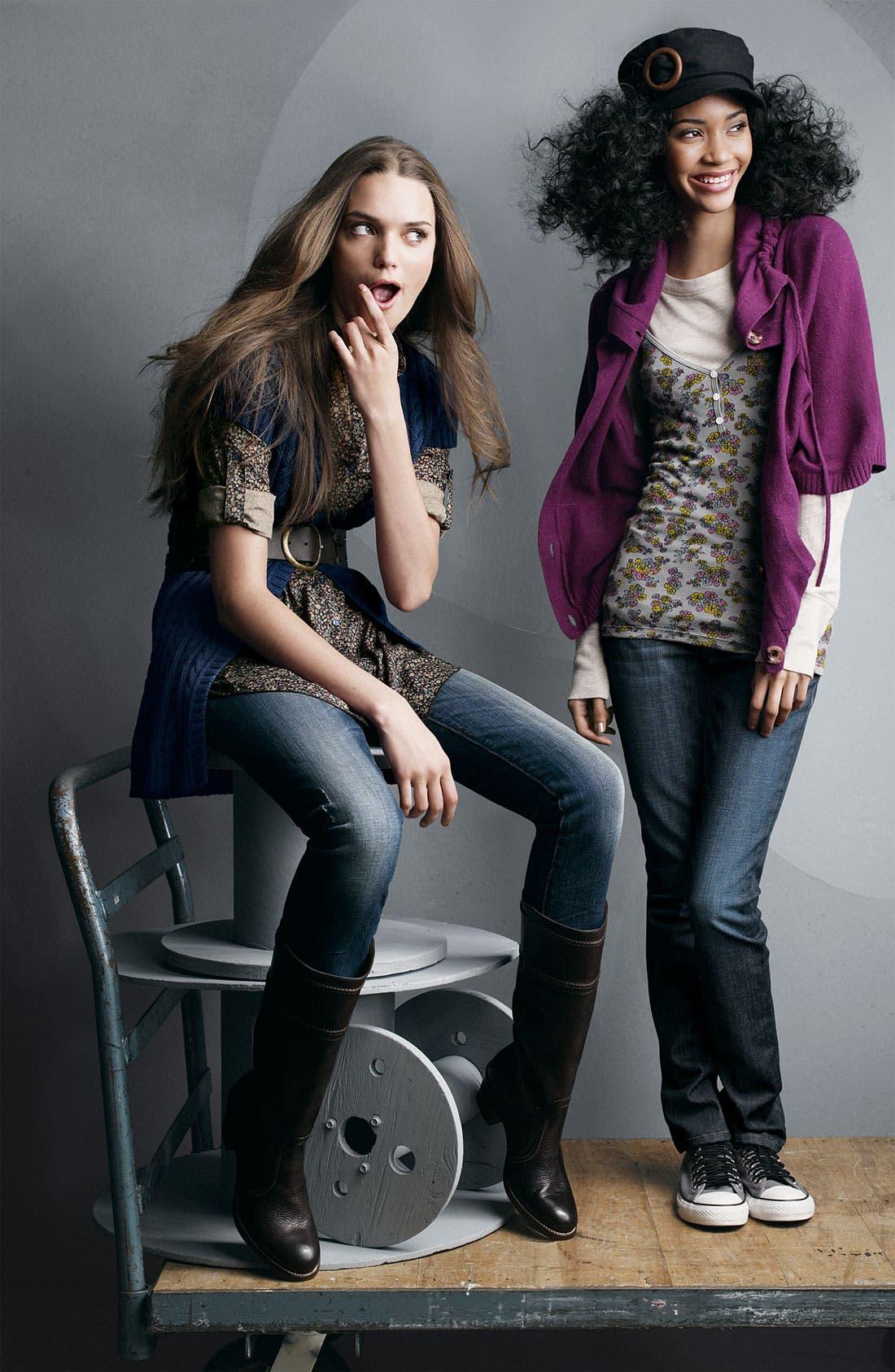 Alternate Image 3  - Vigoss 'Ritz' Skinny Stretch Jeans (Juniors)