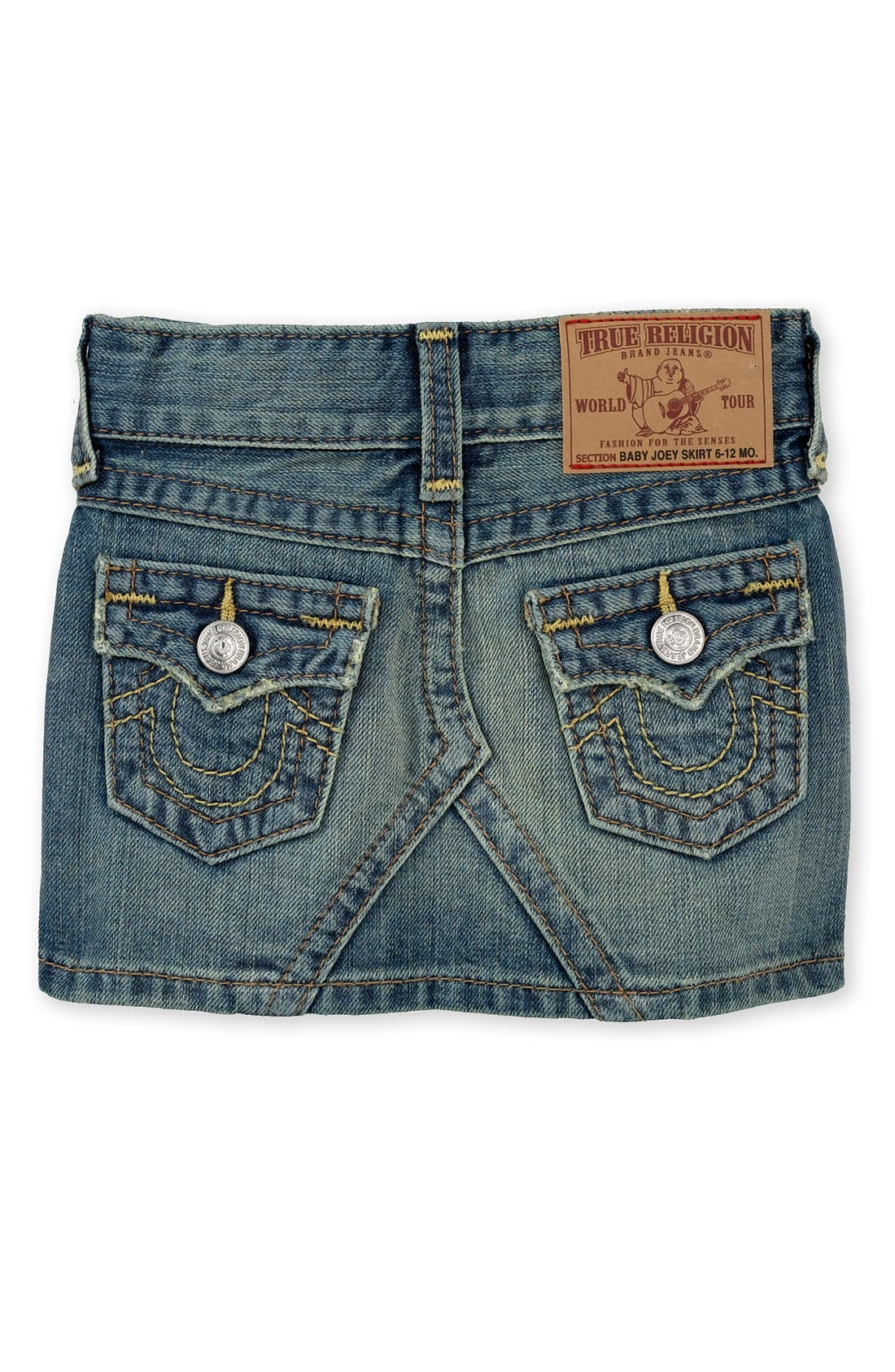 true religion brand baby joey jean skirt infant