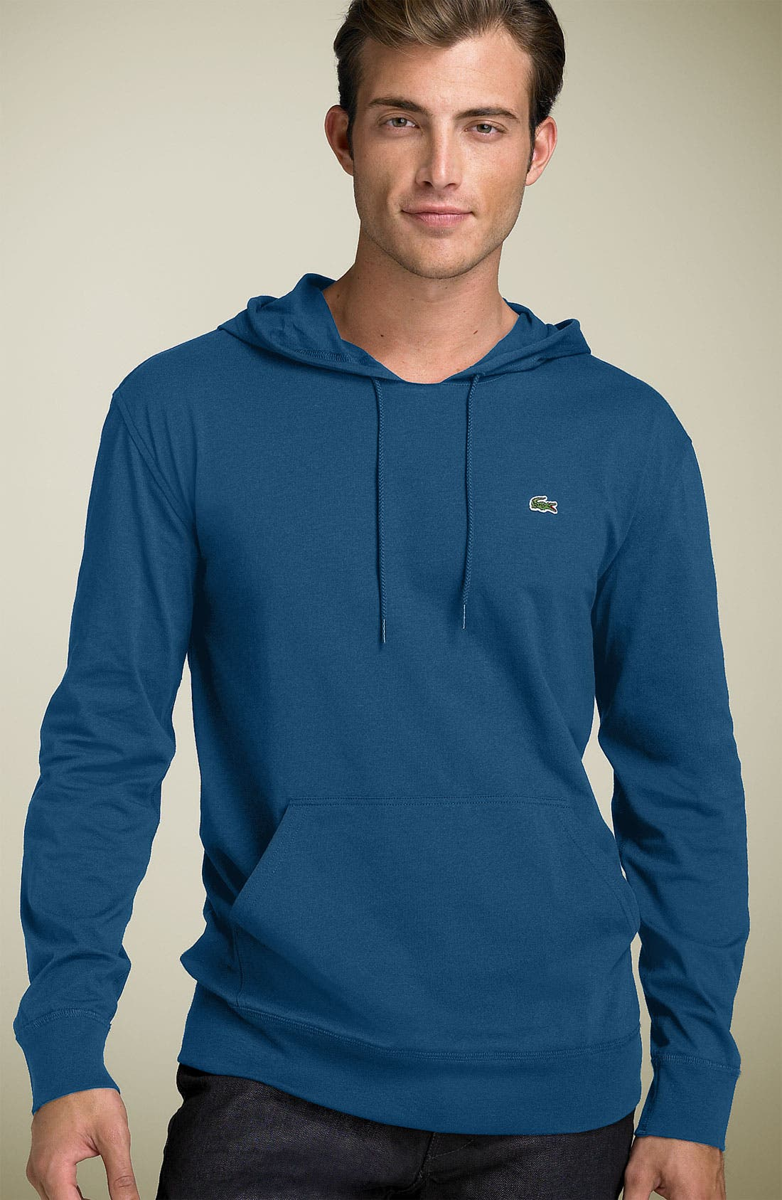 Alternate Image 1 Selected - Lacoste 'Perfect' Jersey Hoodie