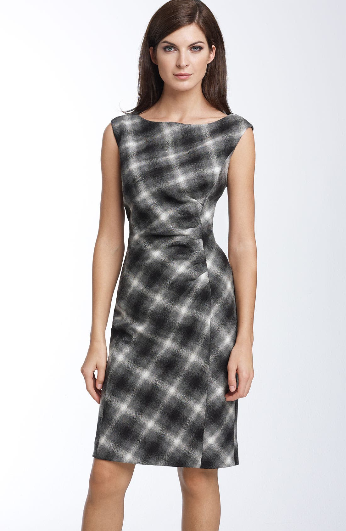 Alternate Image 1 Selected - Classiques Entier® 'Heathrow' Plaid Dress