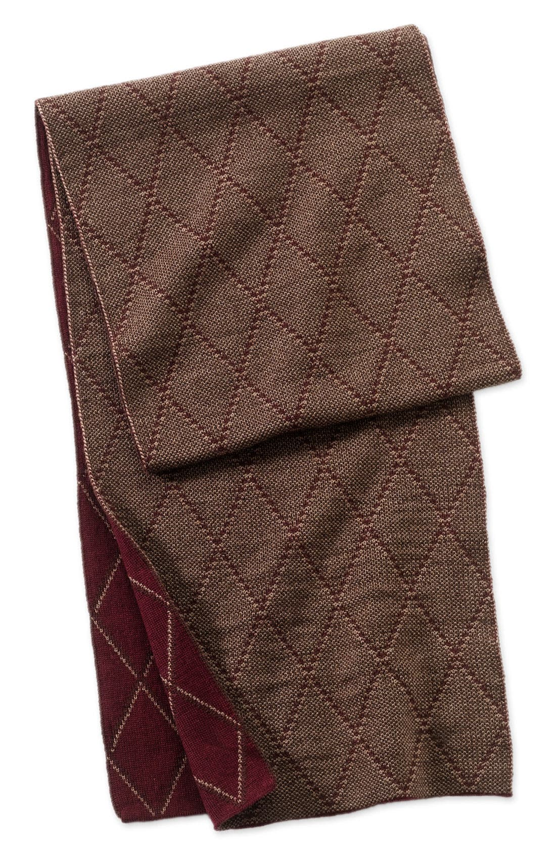 Alternate Image 1 Selected - Nordstrom Patterned Wool Scarf