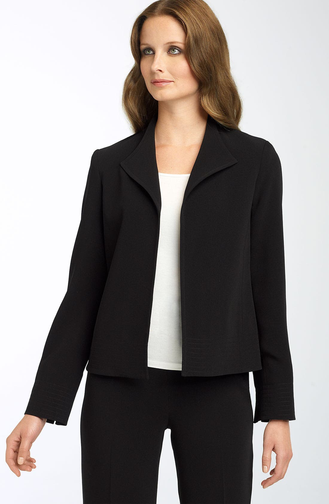 Main Image - Louben Wing Collar Open Jacket