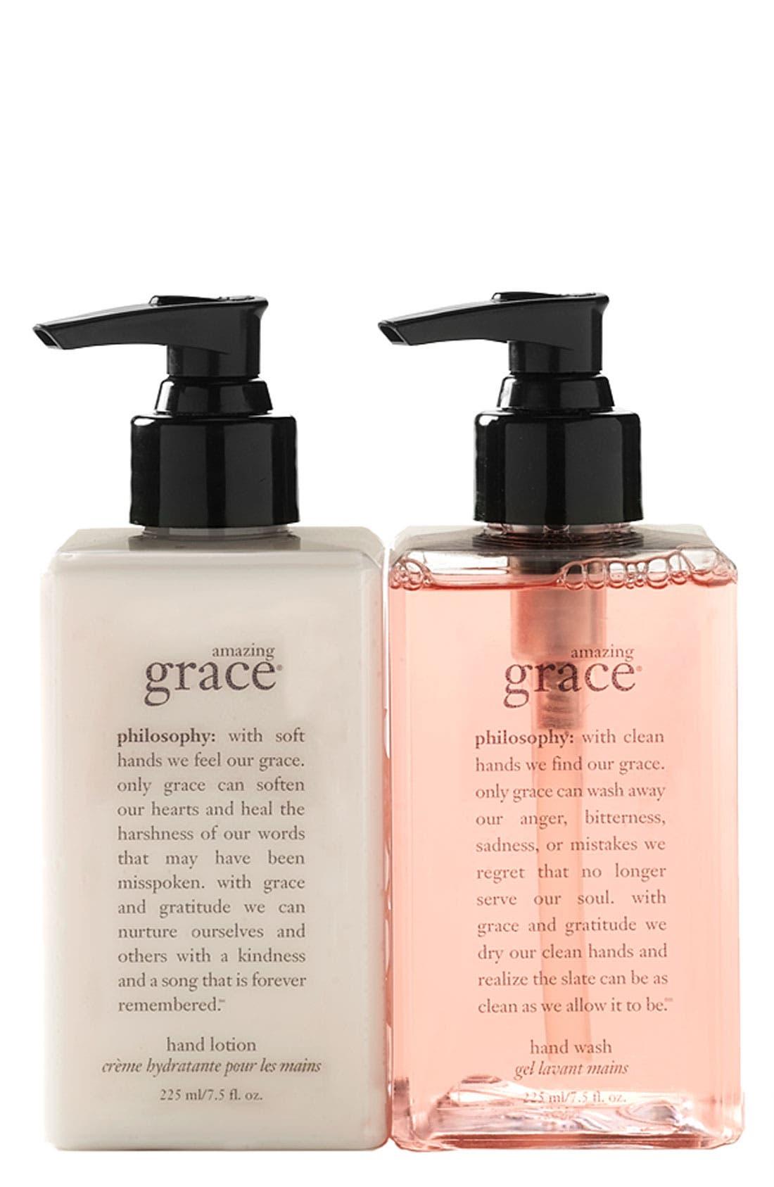 Alternate Image 2  - philosophy 'amazing grace' hand wash & hand lotion set ($36 Value)