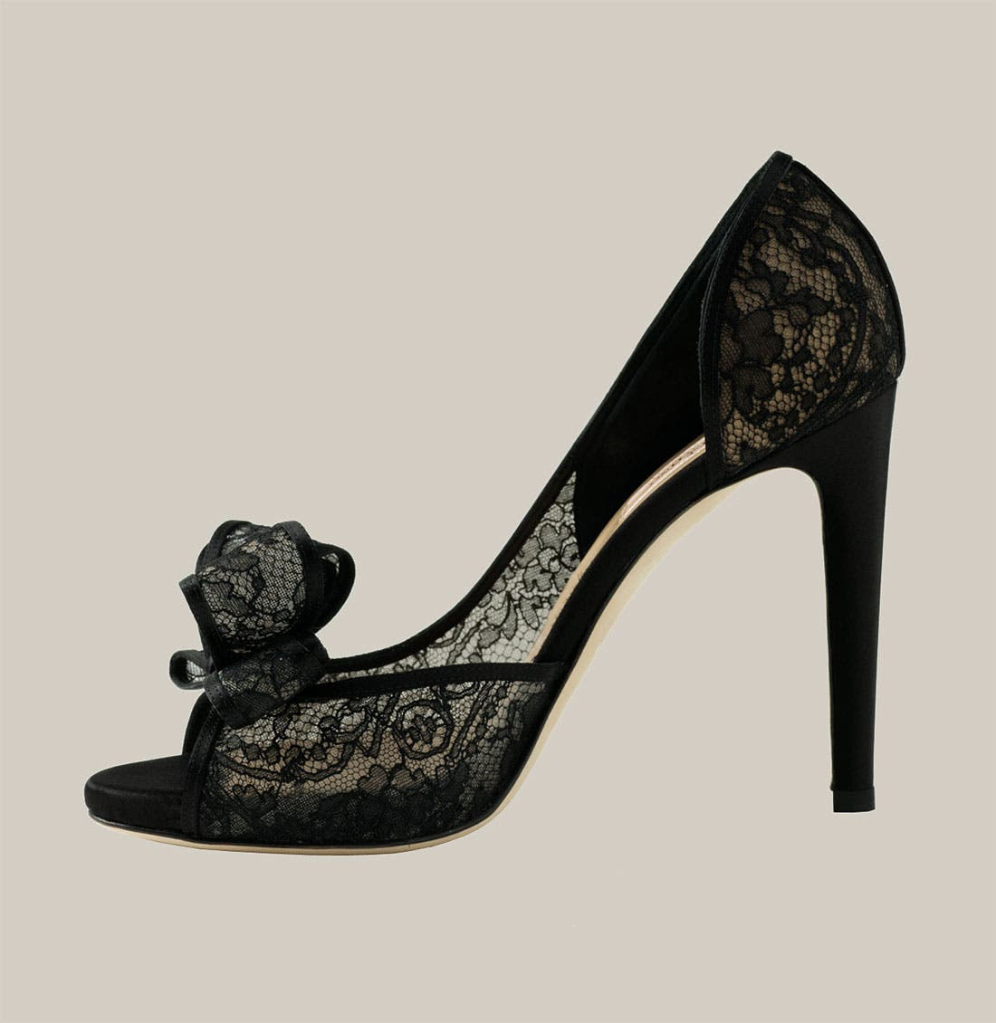 Alternate Image 2  - Valentino Lace d'Orsay Pump