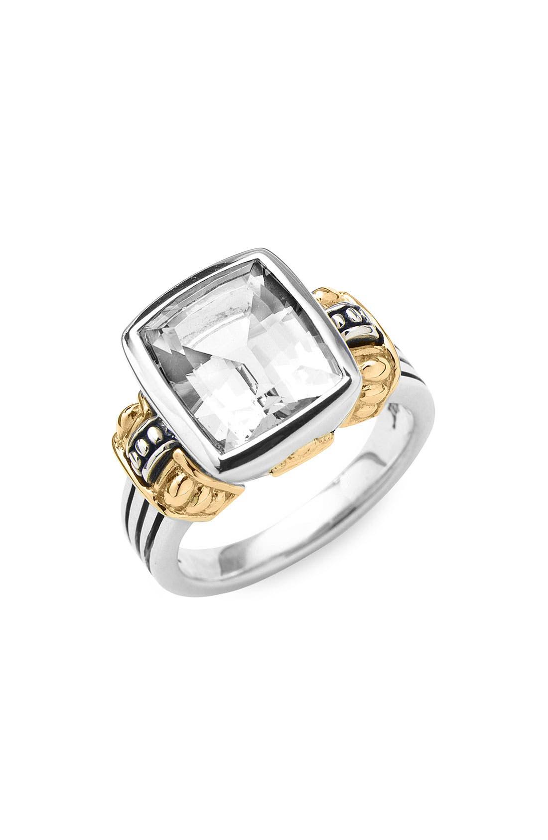 Alternate Image 1 Selected - LAGOS 'Glacier' Cushion Ring