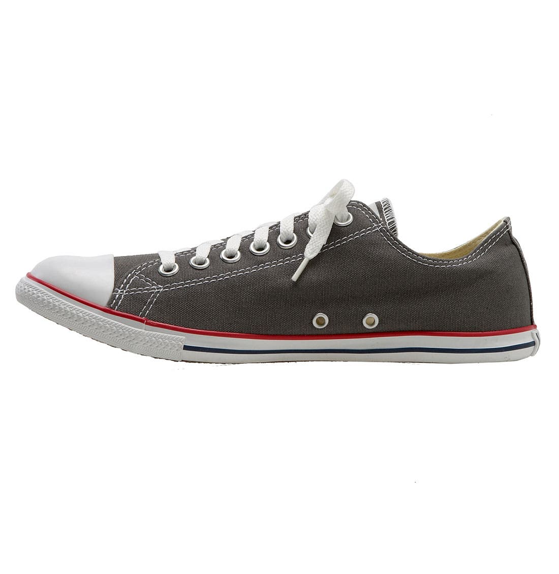 Alternate Image 2  - Converse Chuck Taylor® 'Slim' Low Top Leather Sneaker (Men)