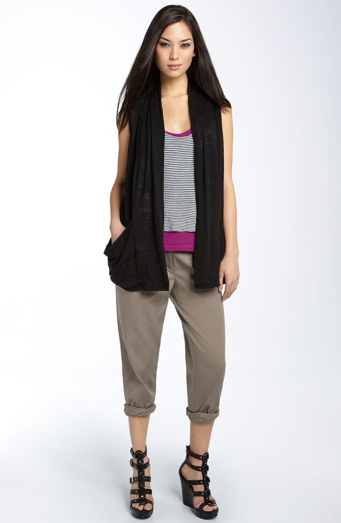 Alternate Image 3  - Hinge® Roll Cuff Cotton Pants
