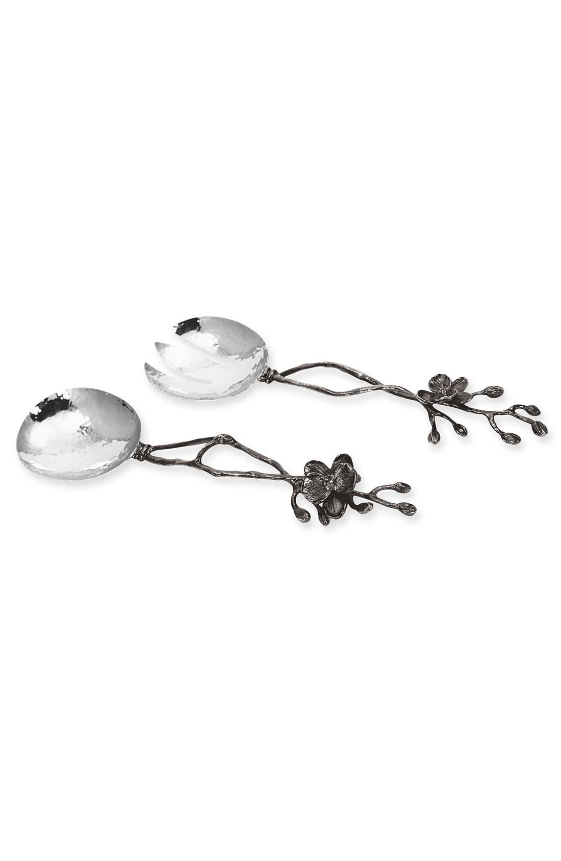 Alternate Image 1 Selected - Michael Aram 'Black Orchid' 2-Piece Salad Serving Set