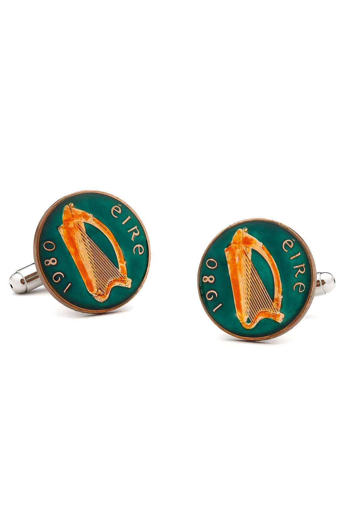 Alternate Image 1 Selected - Penny Black 40 Irish Eire Cuff Links