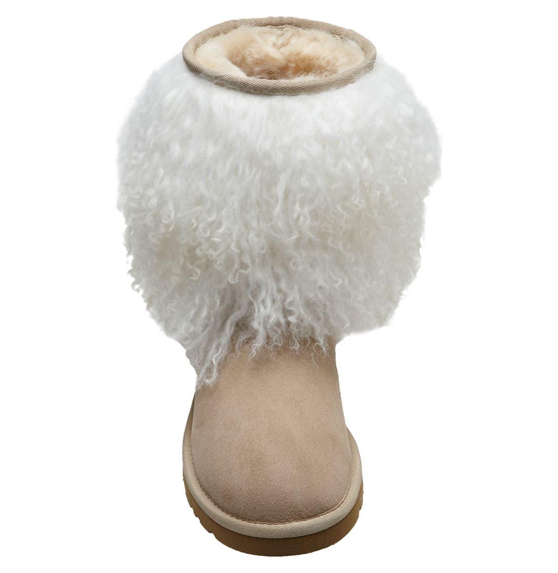 Alternate Image 2  - UGG® Australia Shearling Cuff Boot (Women)