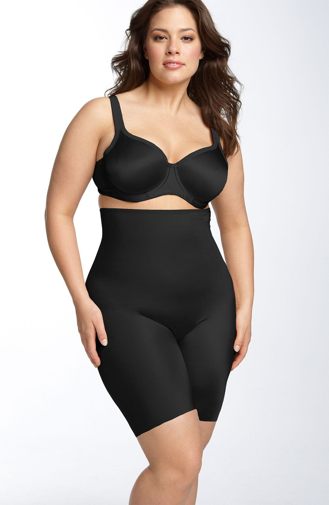 Alternate Image 1 Selected - SPANX® 'Slimplicity' High Waist Shaper (Plus Size)