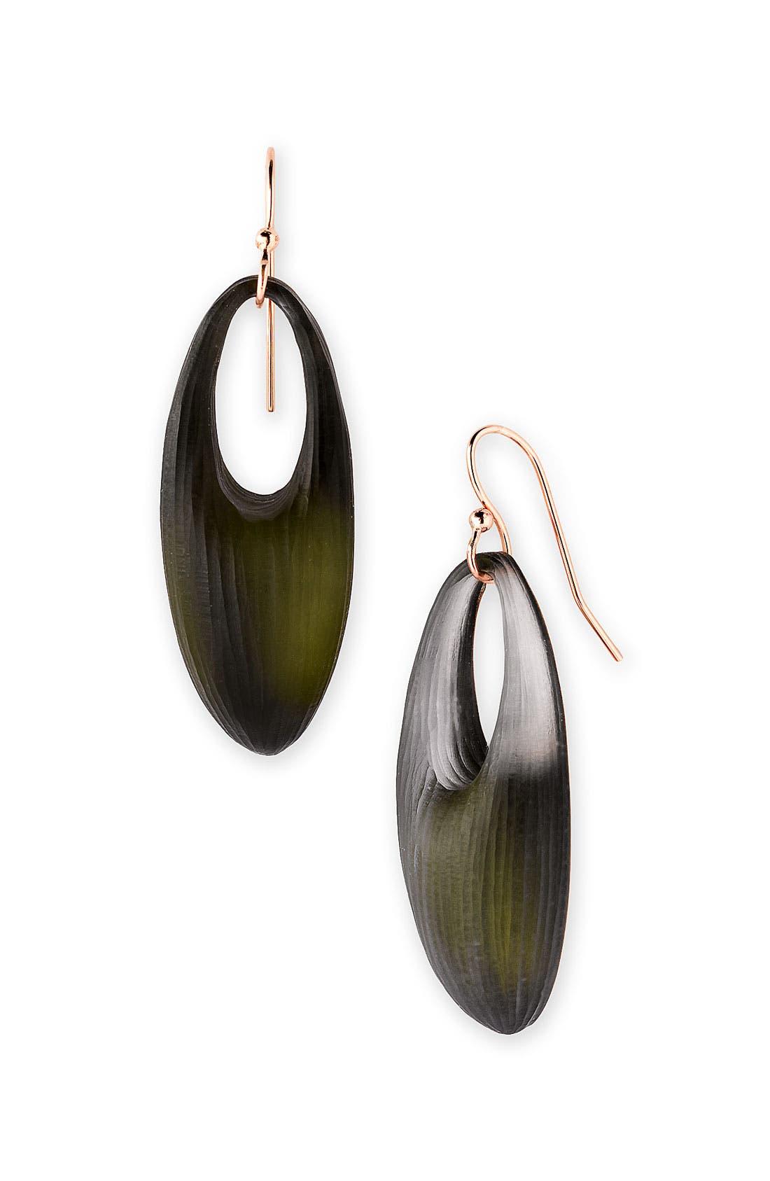 Alternate Image 1 Selected - Alexis Bittar 'Mercury' Oval Drop Earrings