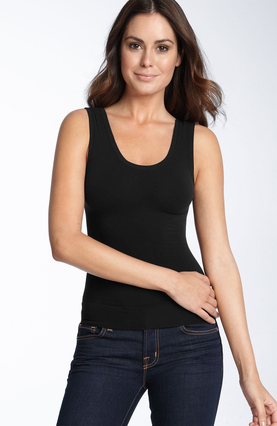 Alternate Image 1 Selected - SPANX® 'On Top' Seamless Shaping Tank