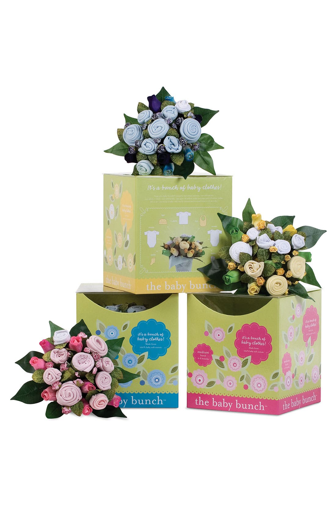 Alternate Image 3  - The Baby Bunch Bouquet Set (Infant)