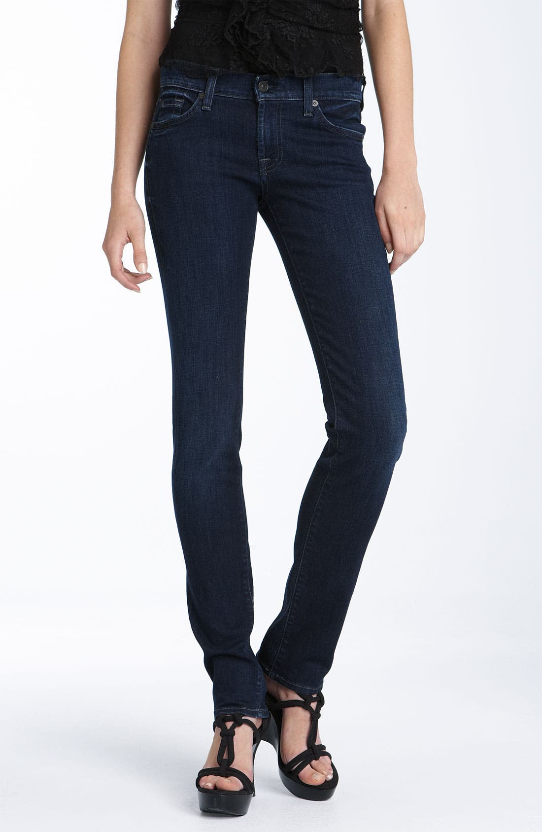 Alternate Image 2  - 7 For All Mankind® 'Roxanne' Skinny Stretch Jeans (Dear Coco Wash)