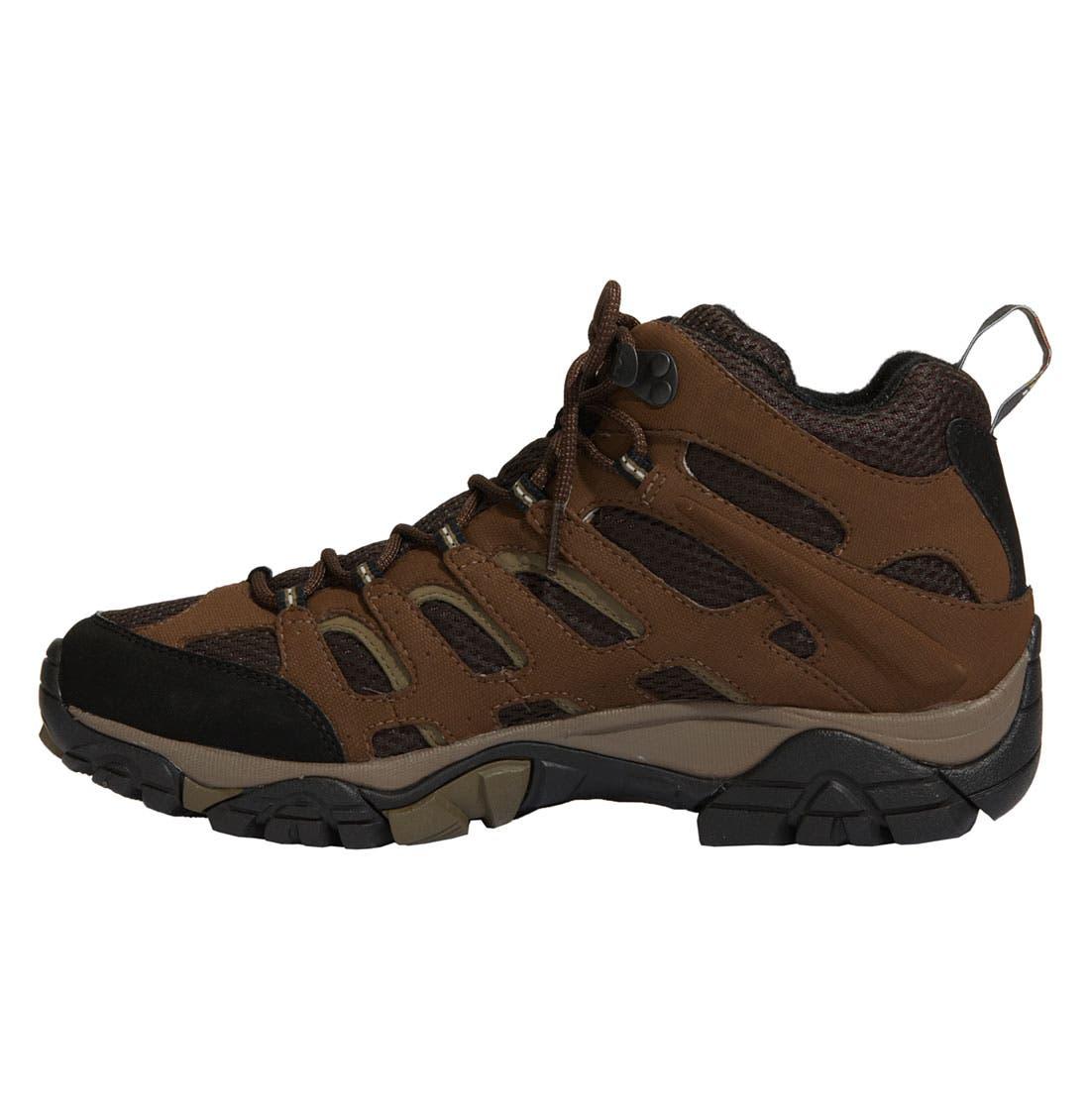 Alternate Image 2  - Merrell 'Moab Mid Gore-Tex® XCR' Hiking Boot (Men)