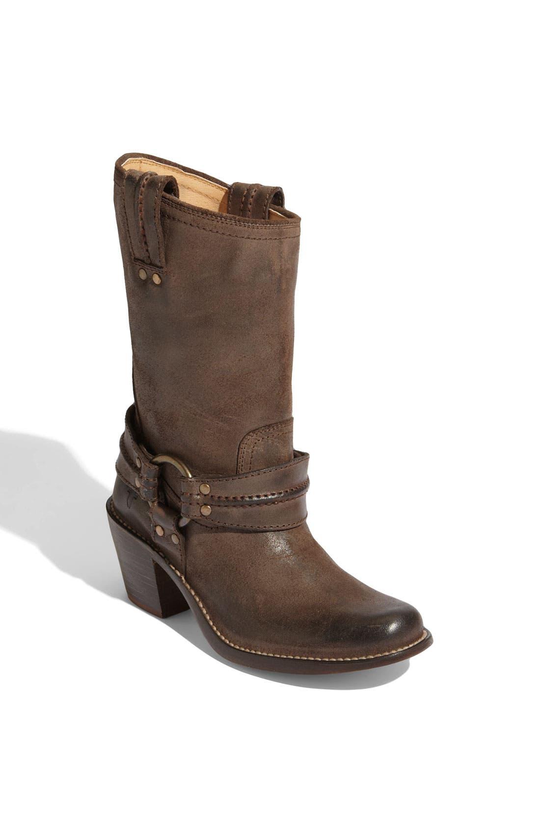Main Image - Frye 'Carmen' Harness Short Boot
