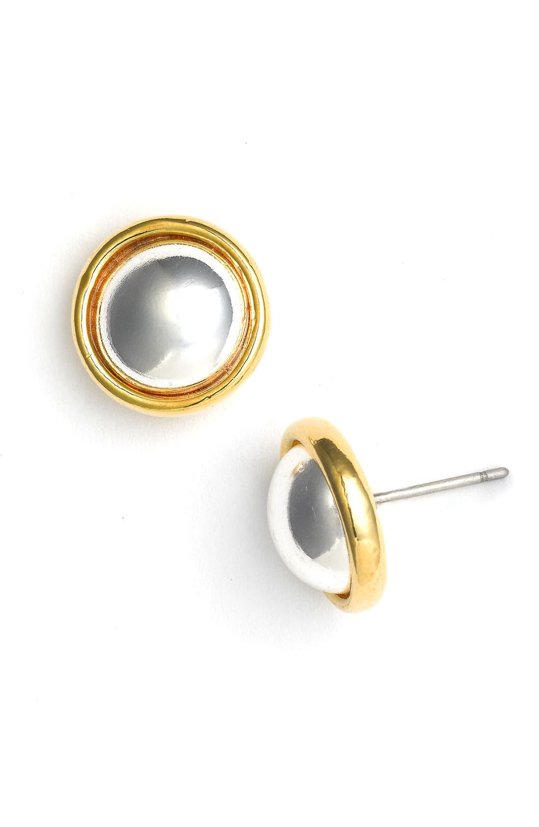 Alternate Image 1 Selected - Lauren by Ralph Lauren 'Lake Tahoe' Button Earrings