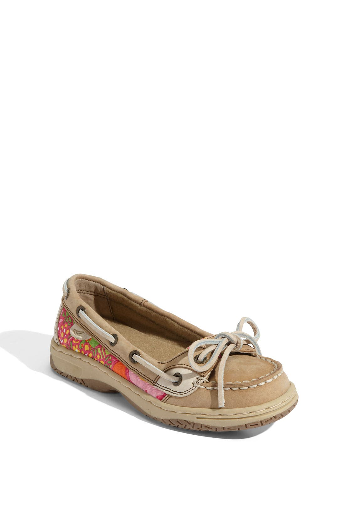 Alternate Image 1 Selected - Sperry Kids 'Angelfish' Boat Shoe (Little Kid & Big Kid)