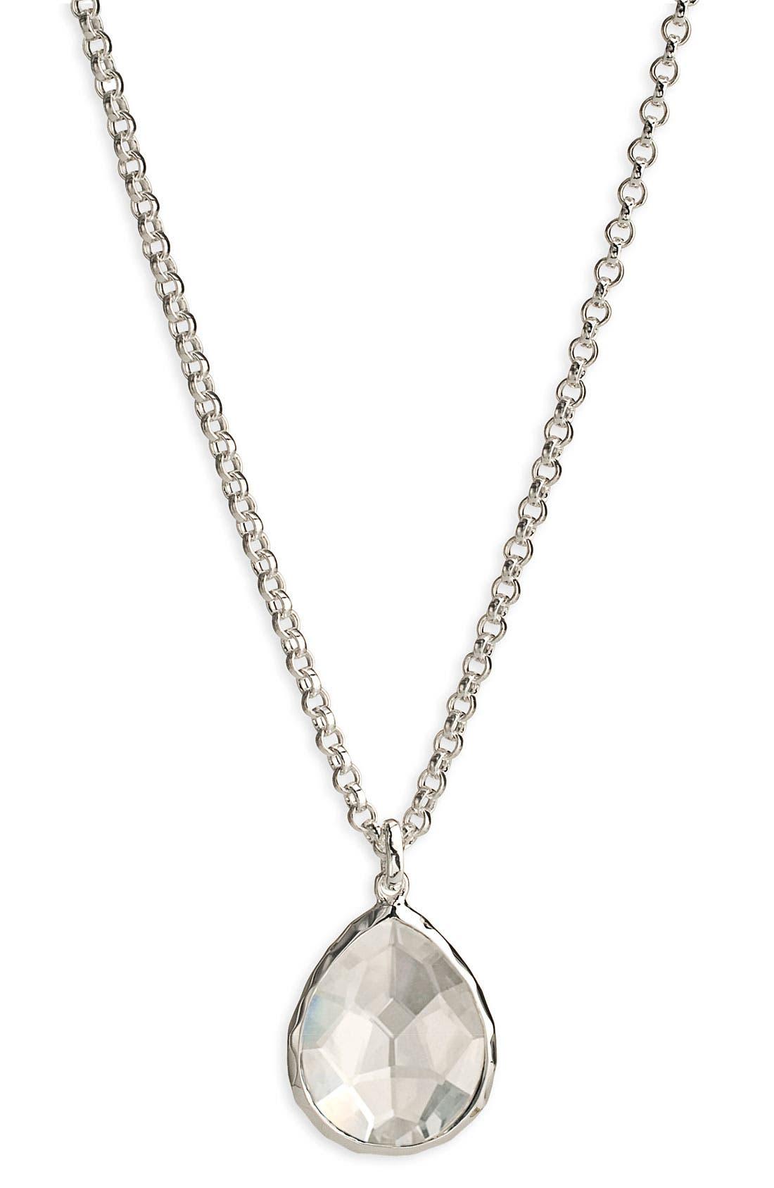 Main Image - Ippolita 'Wonderland' Mini Teardrop Pendant Necklace (Online Only)