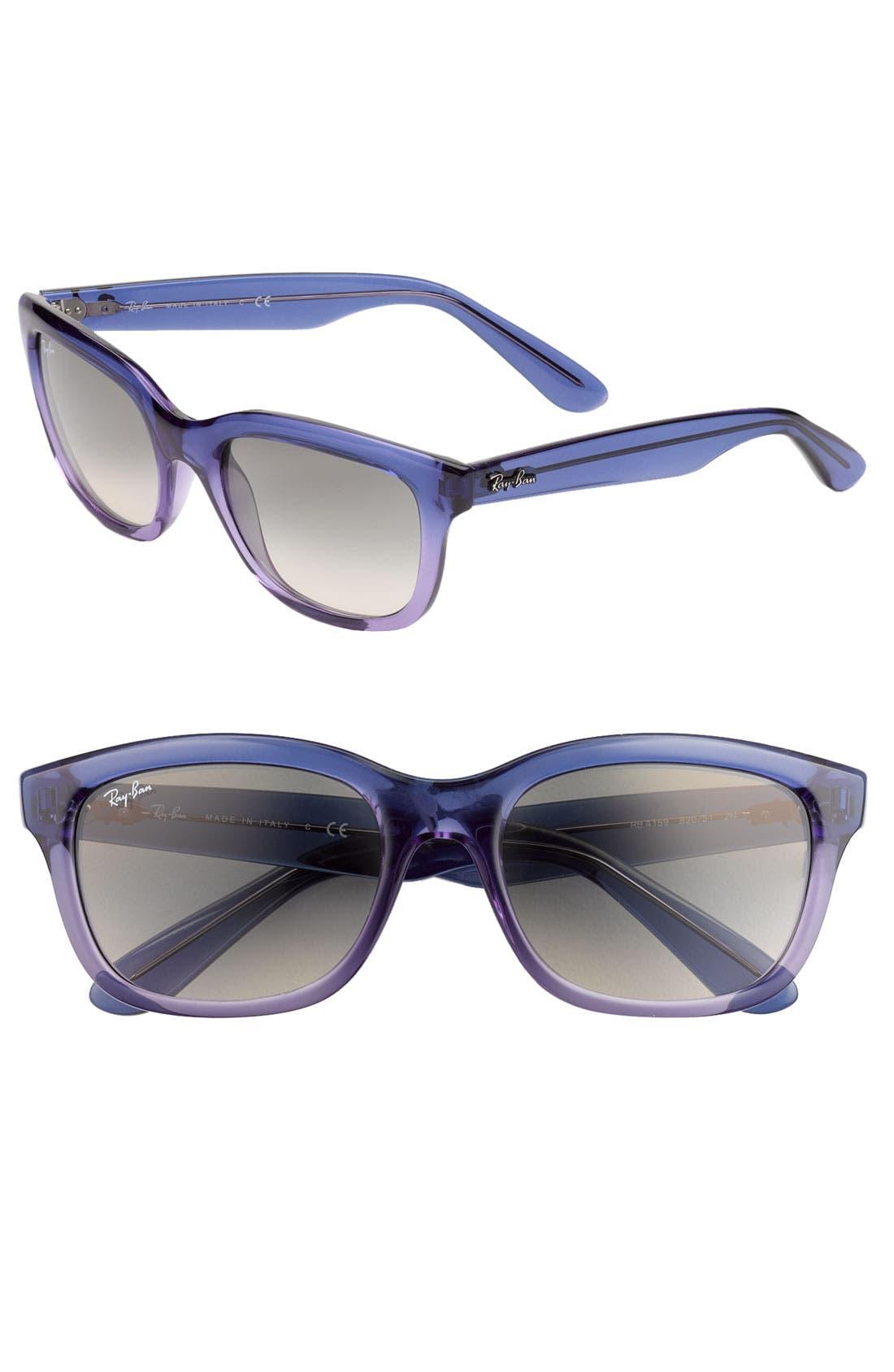 Alternate Image 1 Selected - Ray-Ban 'Updated Wayfarer' 54mm Sunglasses