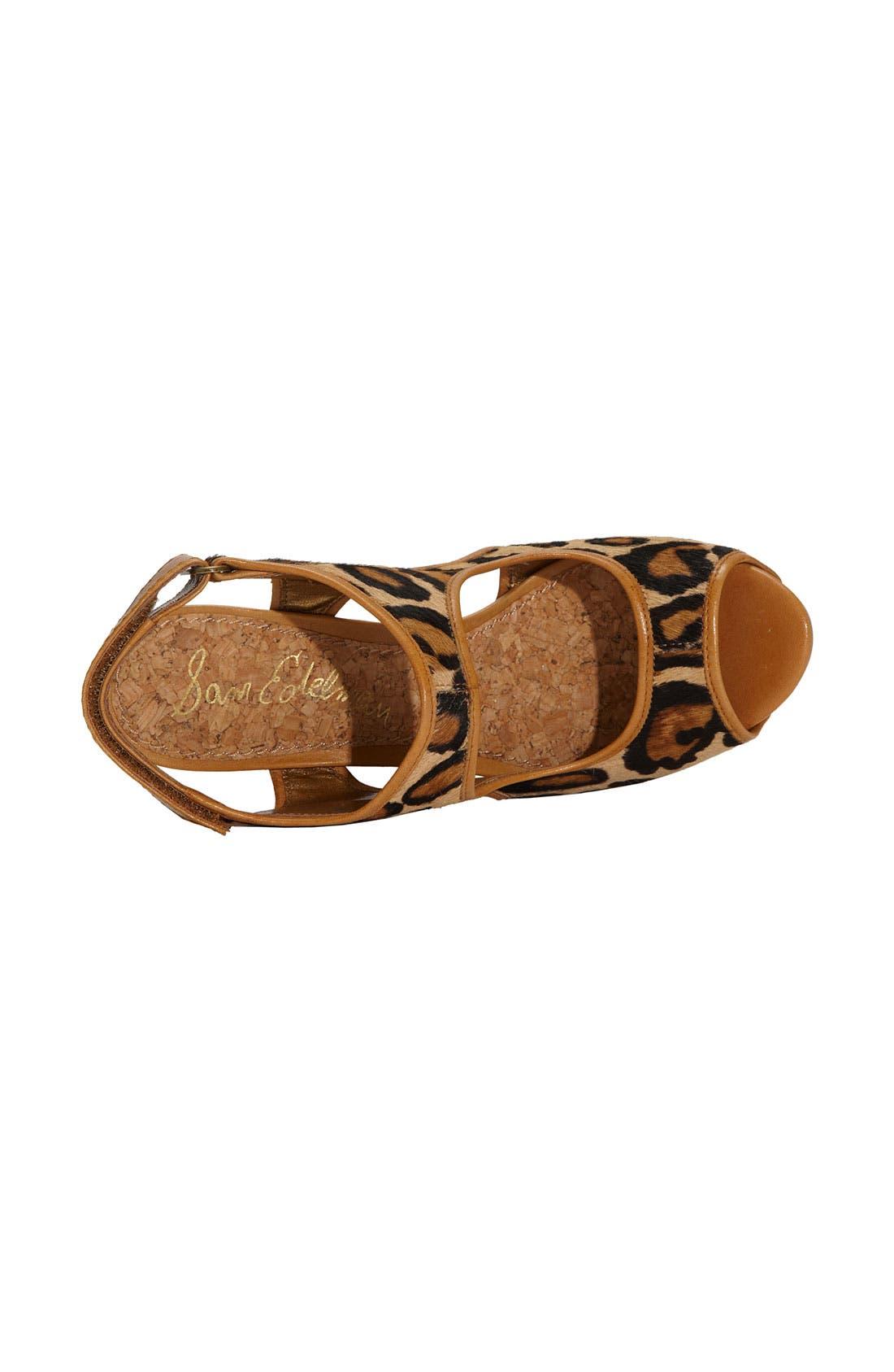 Alternate Image 3  - Sam Edelman 'Kendall' Wedge Sandal
