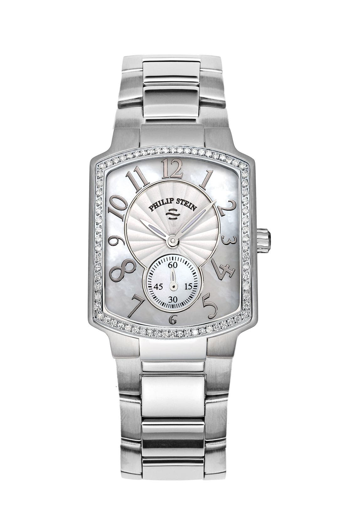 Alternate Image 2  - Philip Stein® 'Classic' Ladies' Small Diamond Watch Case, 29mm x 37mm